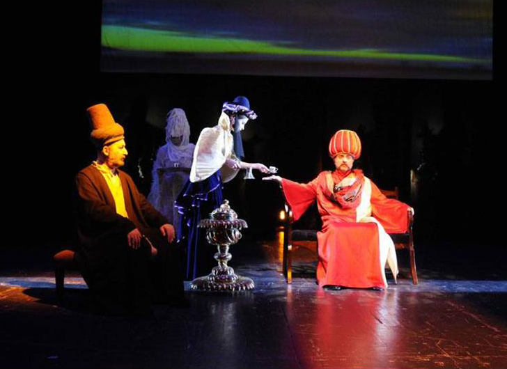 Derviš i smrt, Gradski teatar iz Izmita (Turska), 2009.