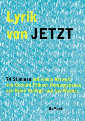 """Naslovna strana panorame nove generacije nemačkih pesnika """"Lyrik von jetzt"""""""