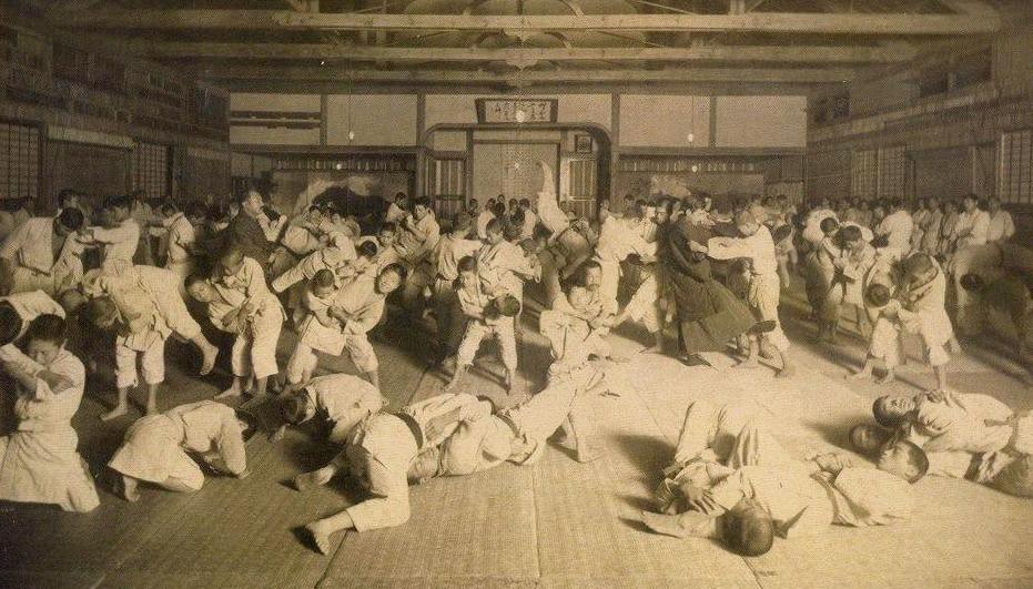 Stara škola džudoa u Japanu