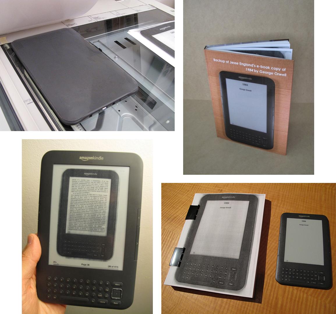 """Projekat umetnika Džesija Inglanda """"E-Book backup"""""""
