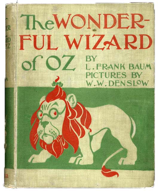 Čarobnjak iz Oza - L. Frenk Baum (originalna naslovnica)