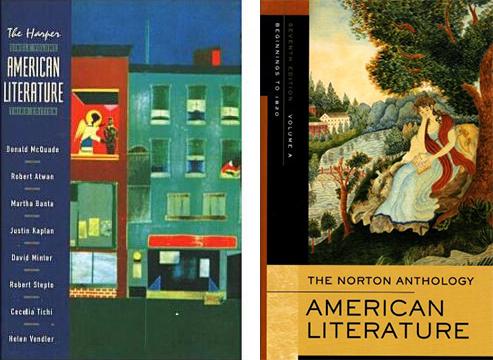 Korice Harperove i Nortonove antologije američke književnosti