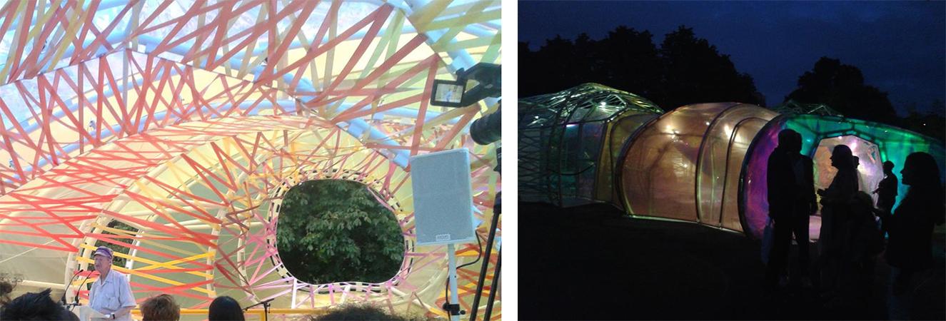 Paviljon Serpentine galerije je u Hyde parku