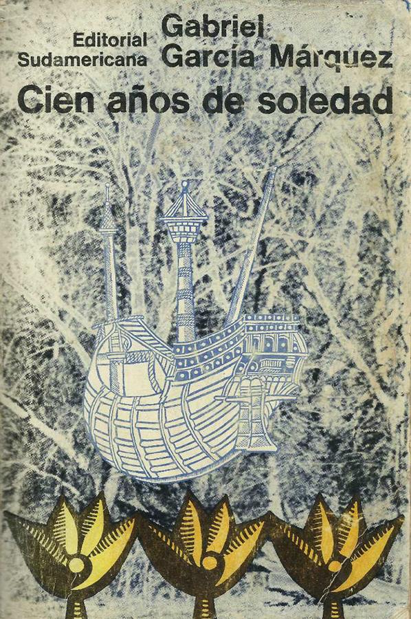 """Naslovna korica prvog izdanja romana """"Sto godina samoće"""""""