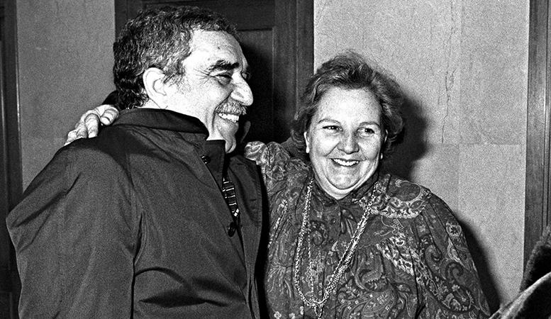 Susret Gabrijela Garsije Markesa i Karmen Balseljs 1982. godine, nakon uručenja Nobelove nagrade za književnost meksičkom piscu.