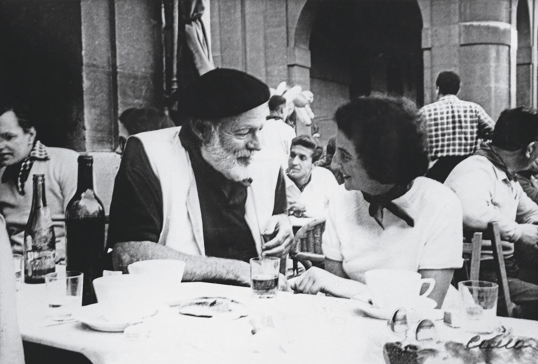 Valeri i Ernest Hemingvej u Pamploni, Španija