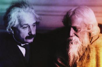 Albert Ajnštajn i Rabidranat Tagore