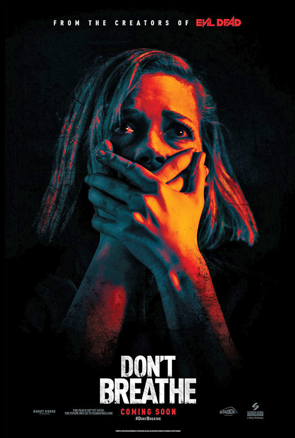 "Bioskopski poster za film ""Don't breathe"""