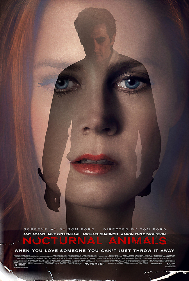 "Bioskopski poster za film ""Nocturnal animals"""