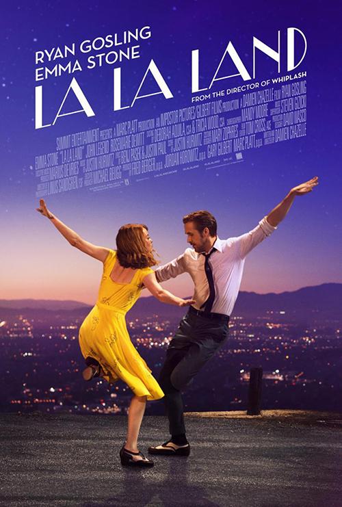"Bioskopski poster za film ""La la land"""