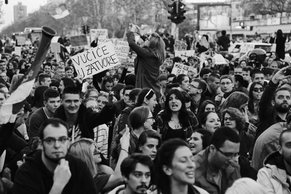 Protesti (Foto: Aleksandar Ramadanović)