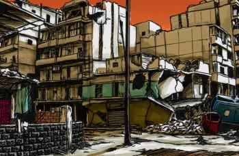 razrušen grad