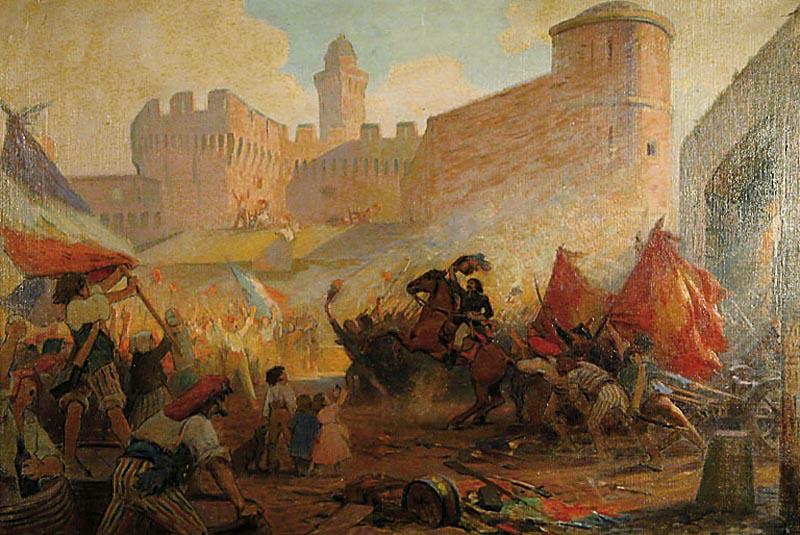 "Anri Pol Pero -  ""Zauzimanje Bastilje""  (1928)"