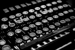 Pisaća mašina, tastatura
